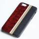 iPhoneケース 変り塗り 赤 塗分け